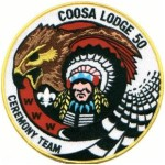 Coosa Lodge Ceremony Team Jacket Patch