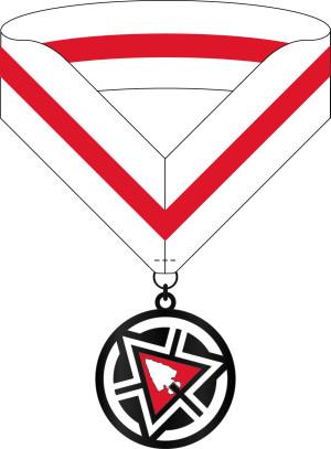 C-100919 BSA OA Centurion Medal v2 Texas MC FRONT