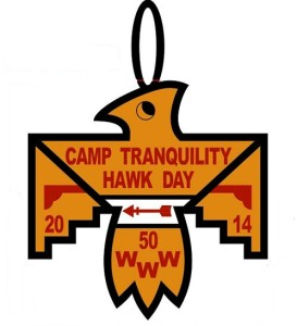 Camp Tranquility Hawk Day Patch