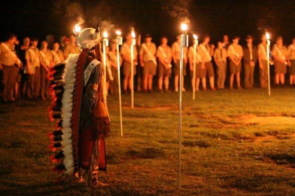 Coosa Lodge Vigil Callout Ceremony. (Photo: Chris Brightwell)