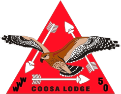 Coosa Lodge Vigil Honor Insignia