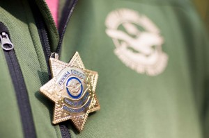 Our metal, custom-made Coosa Lodge Sheriff Badges were a huge hit.