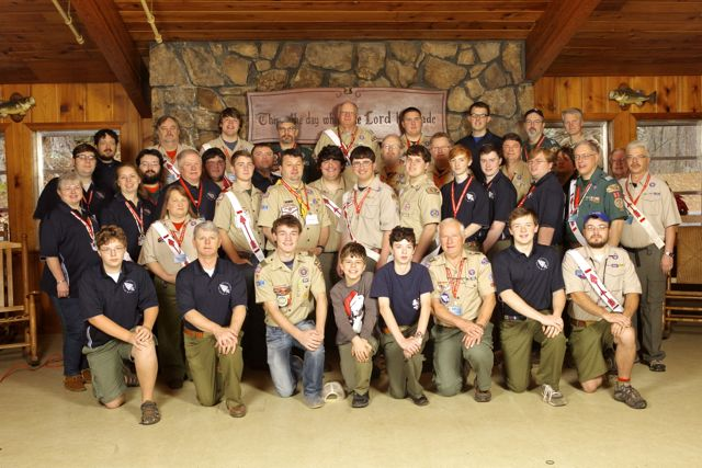 2012 Coosa Lodge Leadership Retreat Attendees