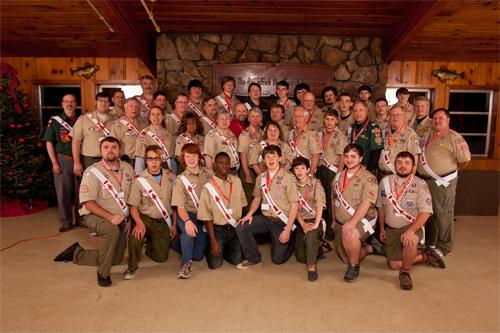 2011-2012 Coosa Lodge Executive Committee