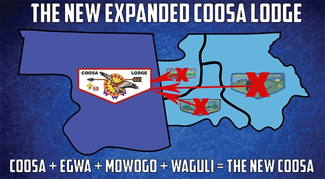Coosa Lodge Expansion Map